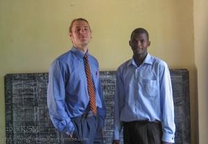 Moses Kyando and James.