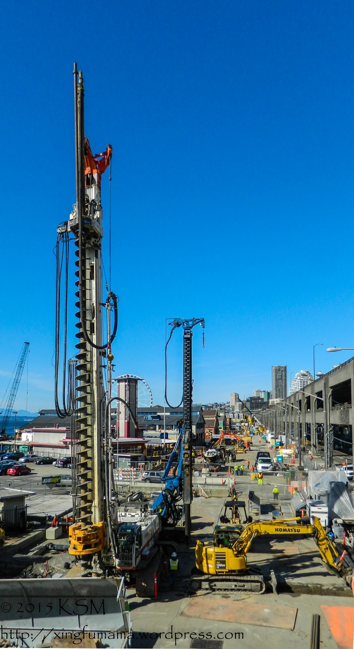 Seattle Waterfront Construction