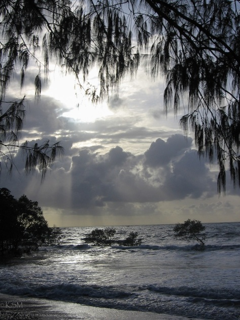 Dawn at Four Mile Beach Australia