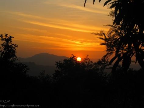 Sunrise in Mulundi Village, Kitui, Kenya.