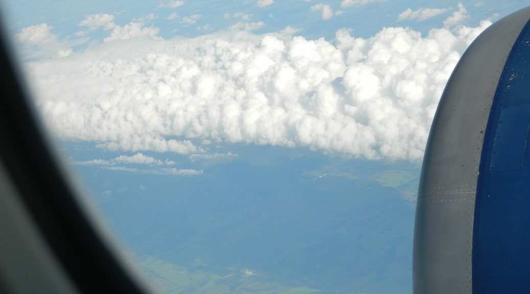 Clouds over Ireland