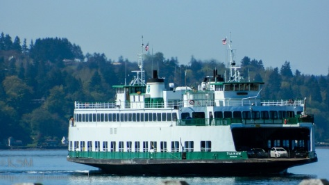 Washington State Ferry: Tillicum