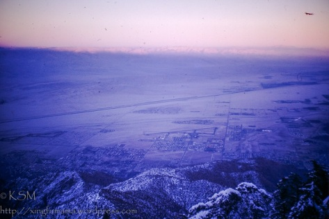 Coachella Valley December 1971.