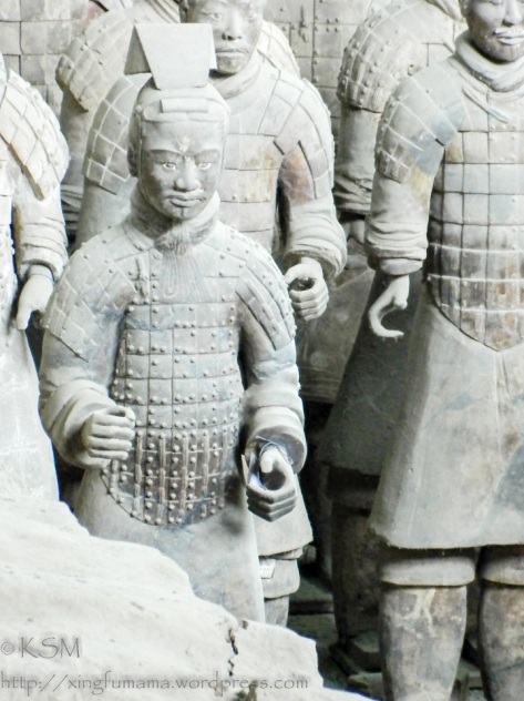 Terracotta warriors.