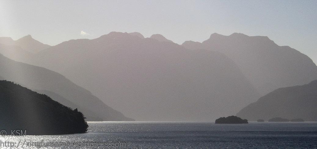 Fjordlands in New Zealand.