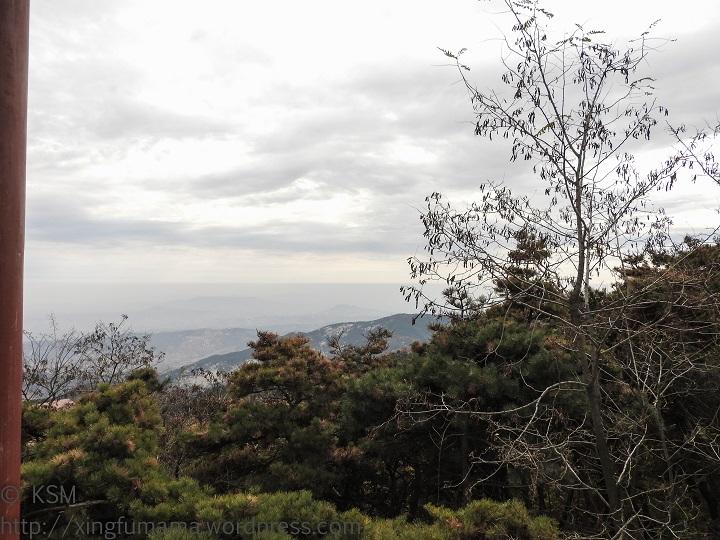 Yishan National Park, Weifang, Shandong Province, China: View along path to Jade Emperor Peak.