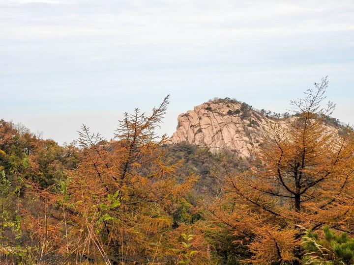 Yishan National Park, Weifang, Shandong Province, China: Lion Rocks.