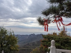 Yishan National Park, Weifang, Shandong Province, China: View near the top of Jade Emperor Peak.