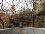 Yishan National Park, Weifang, Shandong Province, China: Ganite slide.