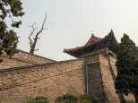 Dai Miao: Back of the north gate.
