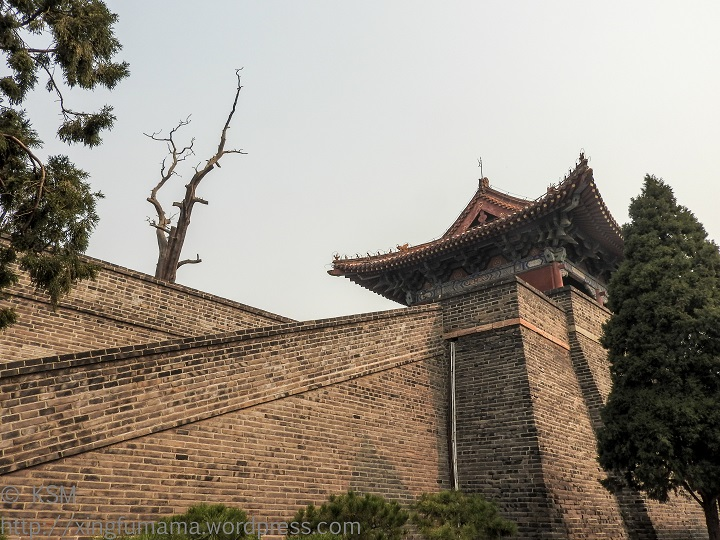 Dai Miao: Back of the north gate.