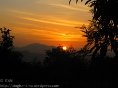 Sunrise in Mulundi, Kitui, Kenya