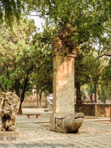 Bixi at Dai Miao in Tai'an.