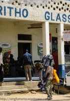 Street scene in Kitui Kenya
