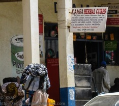 Street scenein Kitui Kenya.