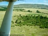 Masai Mara from the air.