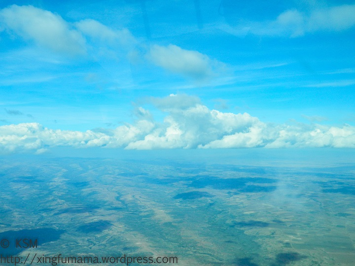Skies over Kenya.