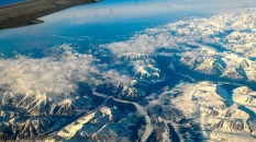 Alaska from the air.
