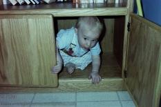 In a hideout.