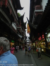 An alley in the tourist section.