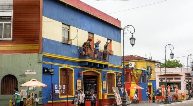 La Boca-the vivid side of Buenos Aires