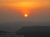 Sunrise in Mulundi Village, Kenya