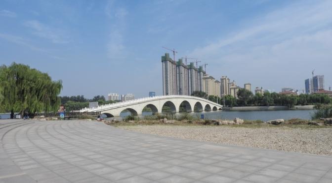 Shouguang-a walk along the Mihe River