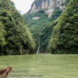 Lesser three gorges scenery.