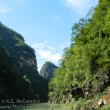 Lesser three gorges scenery.
