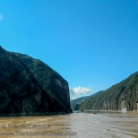 Qutang Gorge, heading upriver.