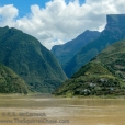 Side stream entering the Yangtze