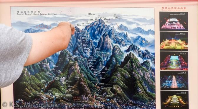 Ascending Mount Tai a.k.a. Taishan