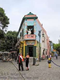 La Boca in the morning.