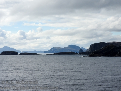 View of other islands in the archipelago.