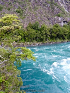 Petrohue River, amazing water color.