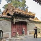 A doorway in the Forbidden City.