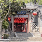 temple entrance in Qingdao.