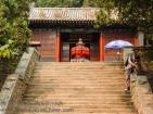 A temple on the climb up Taishan.
