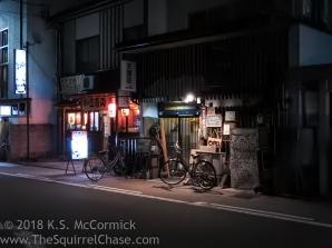 Street scene in Takayama Japan.