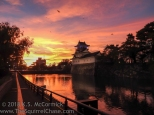 Toyama Castle in Japan
