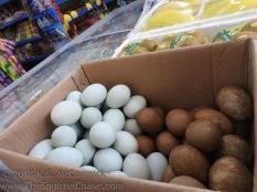 Convenience store eggs.