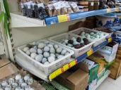Wide variety of eggs.