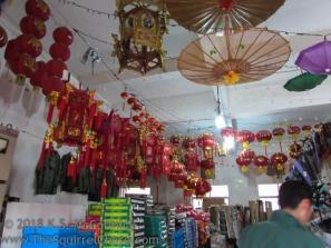 Lantern shop.