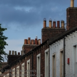 Chimney pots in Carlisle.