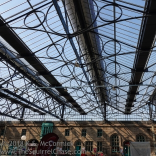 Carlisle train station roof.