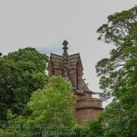 Roof of St. John the Evangelist church in Crosby-on-Eden.