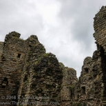 Roof is missing from Thirwall Castle.
