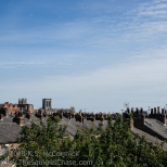 Castle's eye view of York.