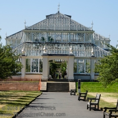 Temperate house in Kew Gardens, London-ish.