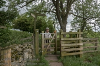 Kissing gate.